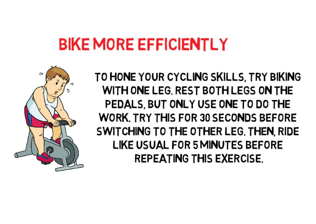 Bike more Efficiently