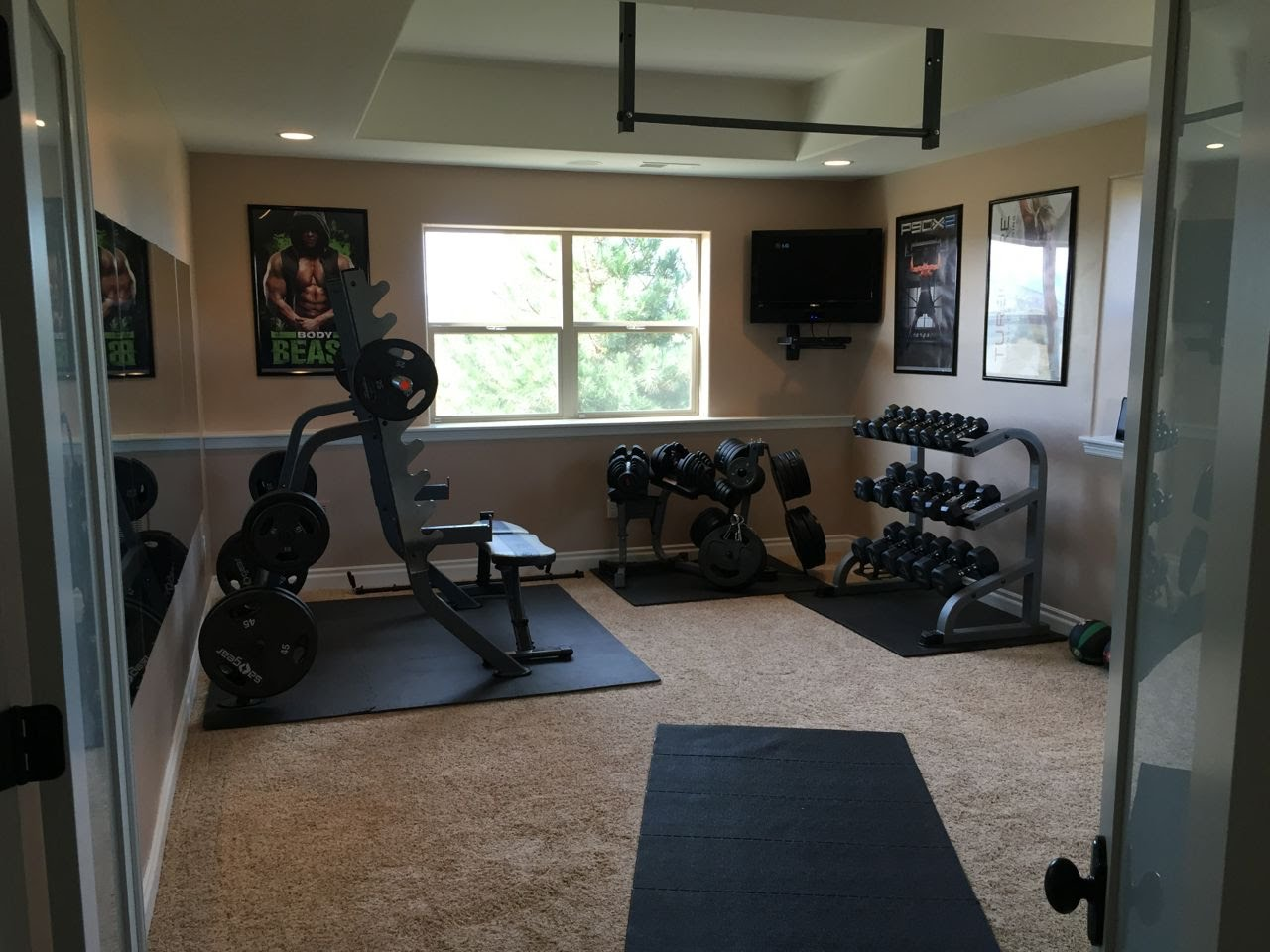 How to Setup Home Gym in BEDROOM